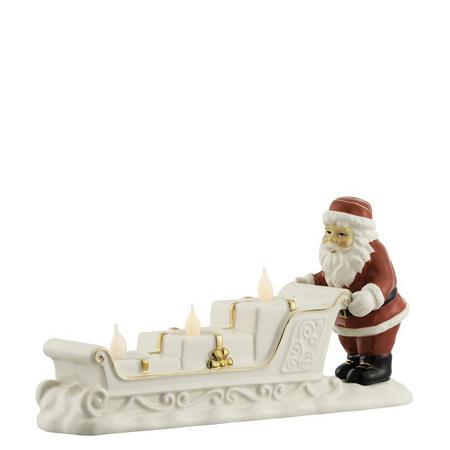 Santa Sleigh Votive