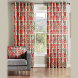 Uppsala Curtains Coral