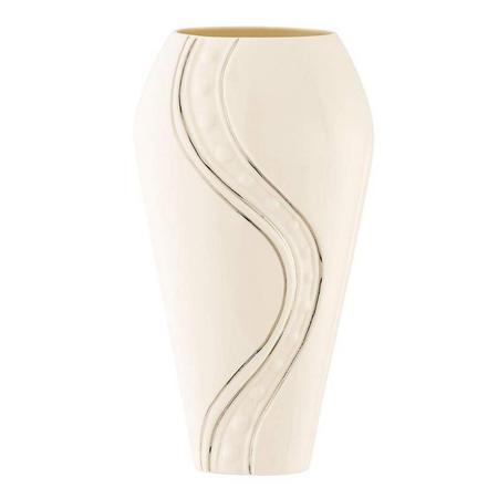 "Living Silver Ripple 12"" Vase"