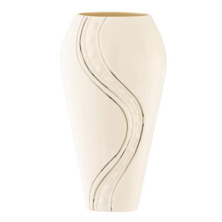 "Living Silver Ripple 9"" Vase"