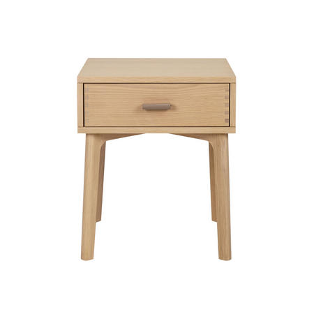 Design Project No.049 One Drawer Beside Table Oak