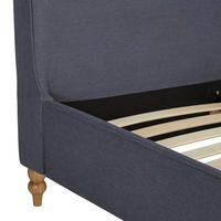 Croft Collection Skye Bed Frame King Size Loch Blue