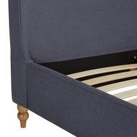 Croft Collection Skye Bed Frame King SizeLoch Blue