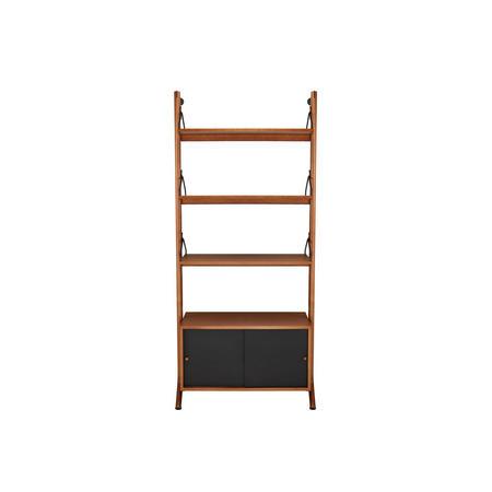 Soren Narrow 3 Shelf/Storage Birch