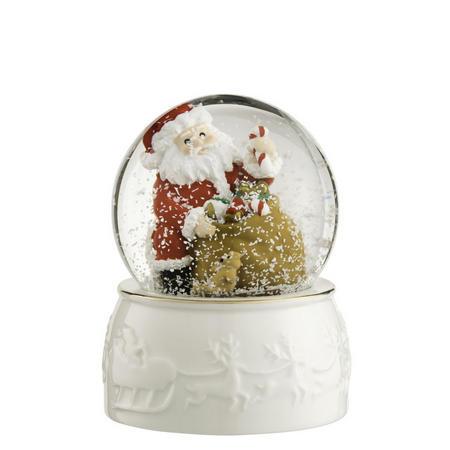 Santa Snowglobe