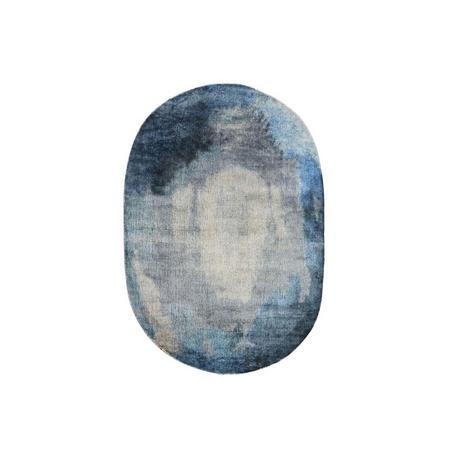 Watermark Oval Rug