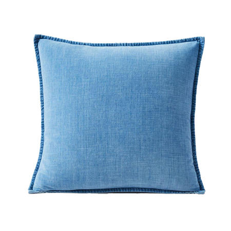 Cotton Velvet 51cm X 51cm Pillow Cover Indigo