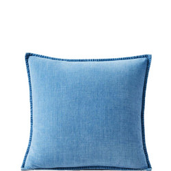 Cotton Velvet 51cm X 51cm Pillow Cover Indigo