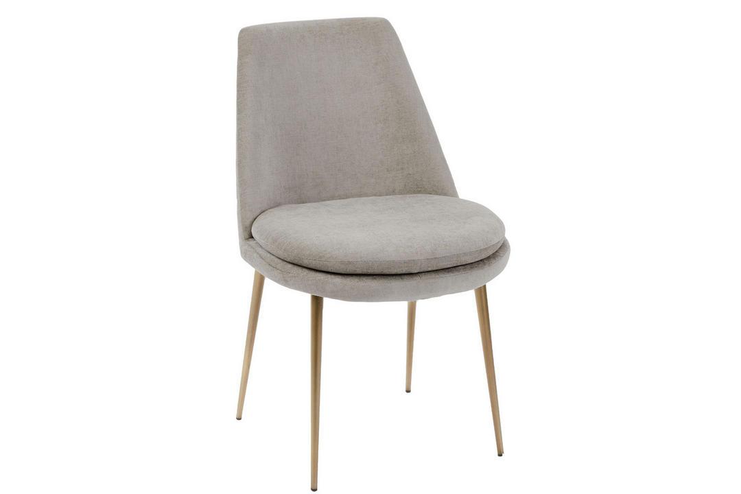 Finley Dining Chair Taupe Velvet