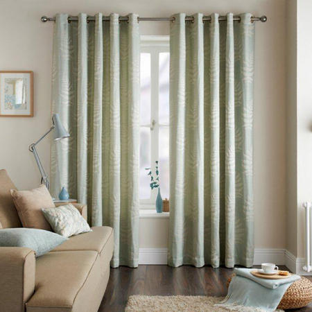 Fern Curtains Eau De Nil