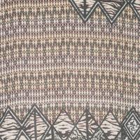 Aztec Print Scarf Sand