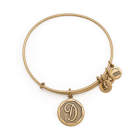 Initial - D Bangle Gold