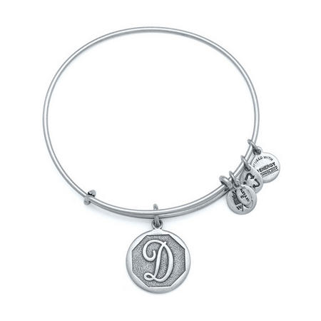 Initial - D Bangle Silver