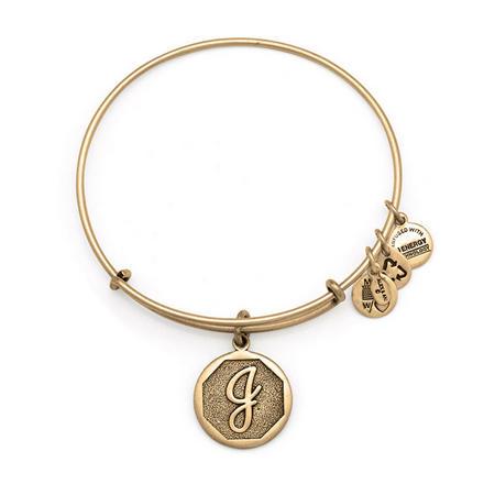 Initial - J Bangle Gold