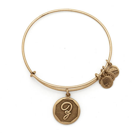 Initial - Z Bangle Gold