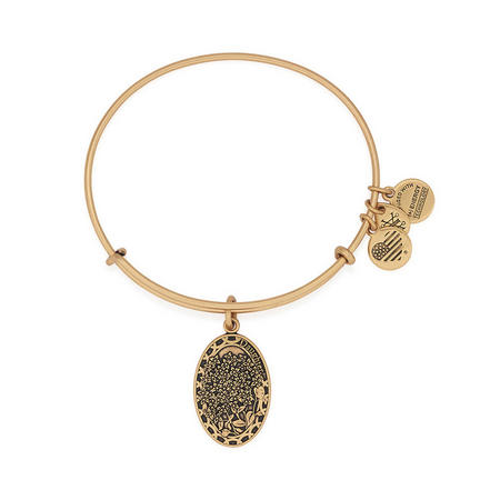 Daughter Charm Bangle Gold
