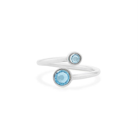 March Ring Wrap Silver