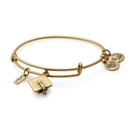 2017 Graduation Cap Bangle Rafaelian Gold