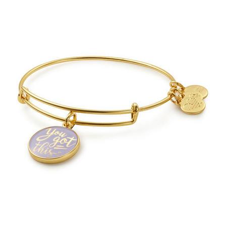 You Got This Charm Bangle Gold