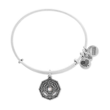 Bridesmaid Charm Bangle Rafaelian Silver