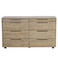 Calais 8 Drawer Wide Chest
