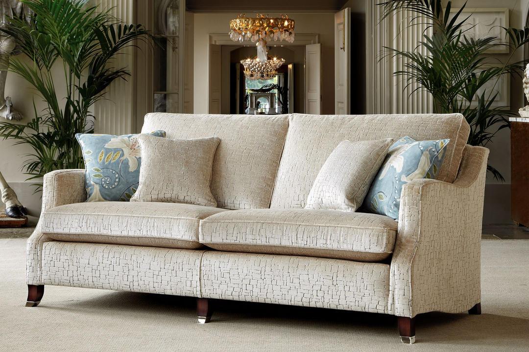 Amelia Medium Sofa, Camden Velvet Silver