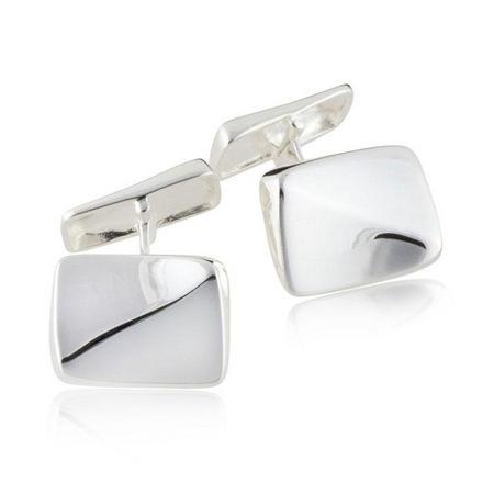 Wave Cufflinks Silver