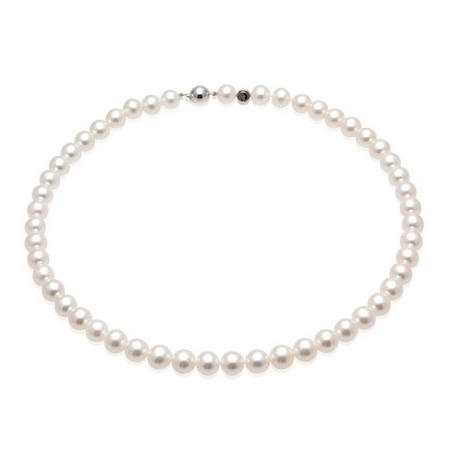 18 Carat 8mm Fresh Water Pearl Collar 16""