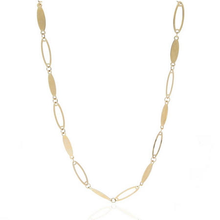 9Ct Gold Marquise Necklace