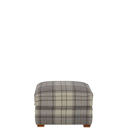 Aston Footstool Bainbridge Grey
