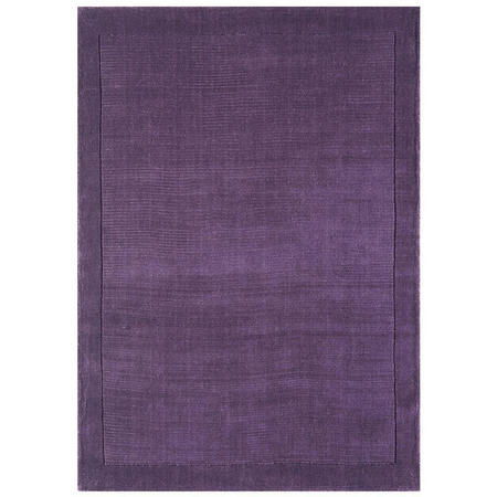 York Rug Purple