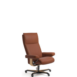 Aura Office Chair, Paloma Copper and Oak
