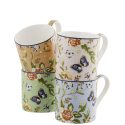 Cottage Garden Windsor Mug Set of 4