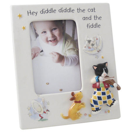 Cat and the Fiddle Photo Frame