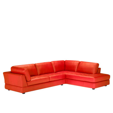 B617 Massimo Leather Corner Group (RAF Terminal) Red