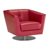 B617 Massimo Swivel Arm Chair Green