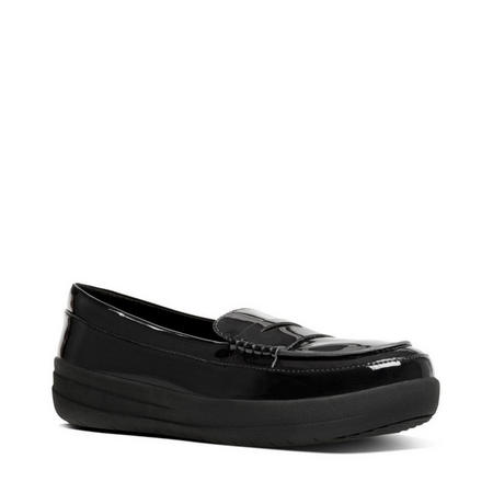 F Sporty Penny Loafer Black