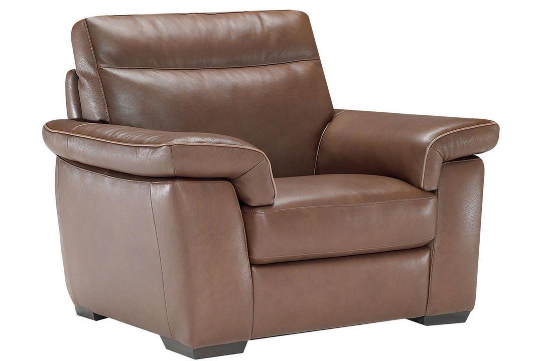 B757 Brivido Leather Armchair