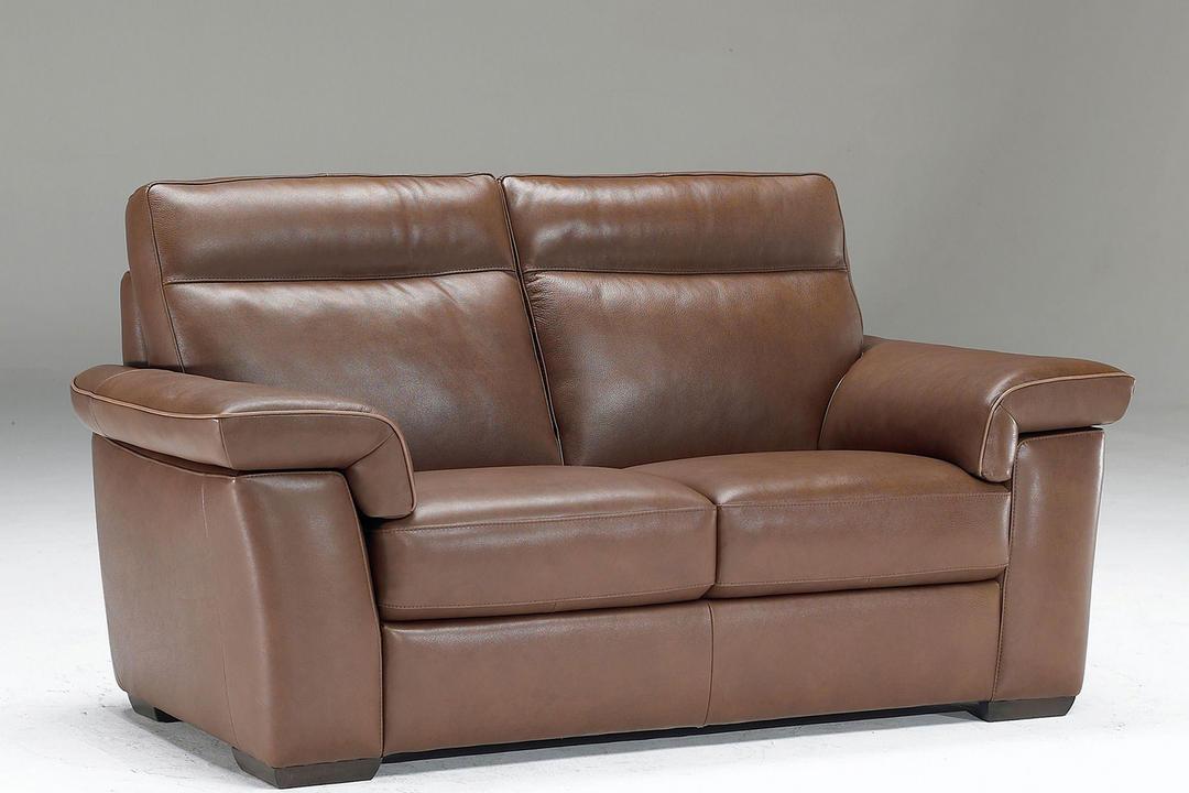 B757 Brivido Medium Leather Sofa