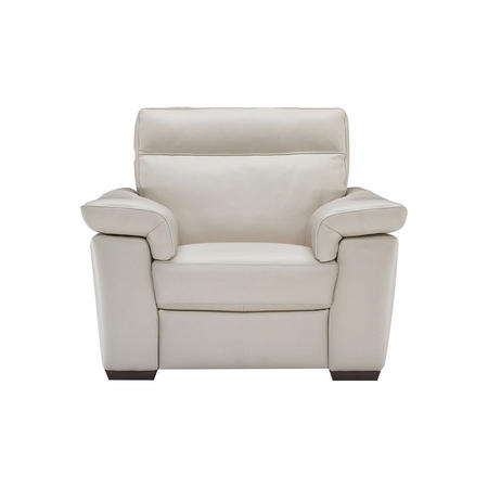 B757 Brivido Leather Armchair Beige