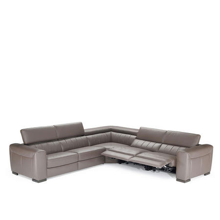 B790 Forza Small LHF Corner Group With Recliners 10BT Brown
