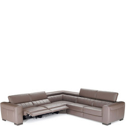 B790 Forza Small RHF Corner Group With Recliners 10BT Brown