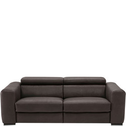 B790 Forza Split Sofa With Power Recliners Second Option 10BH Brown