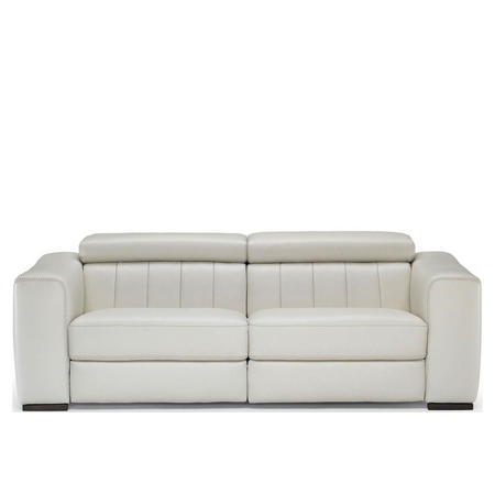 B790 Forza Split Sofa With Power Recliners 20JH White