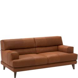 B992 Tiziano Leather Sofa 15WL