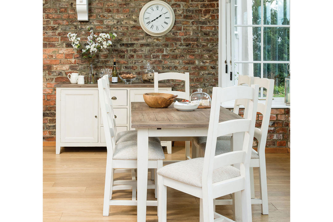 Cotswold Dining Chair With Upholstered Seat