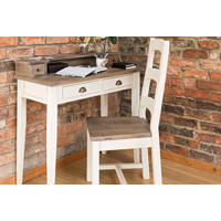 Cotswold Dining Chair With Wooden Seat