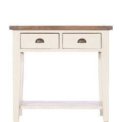 Cotswold 2 Drawer Hall Table