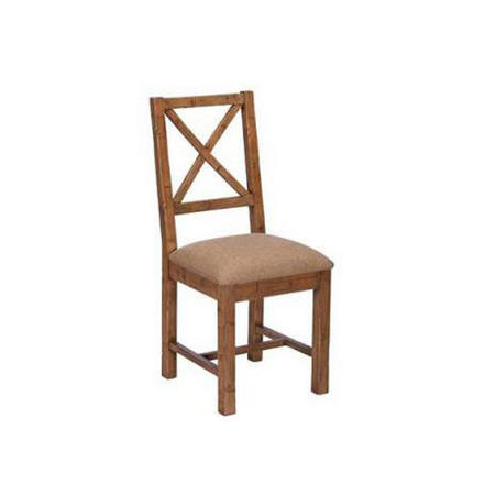 Nixon Upholstered X Back Dining Chair