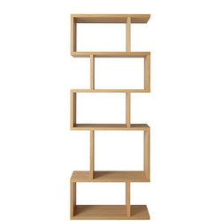 Balance Alcove Shelving Oak Finish